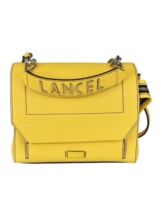 Lancel Logo Shoulder Bag
