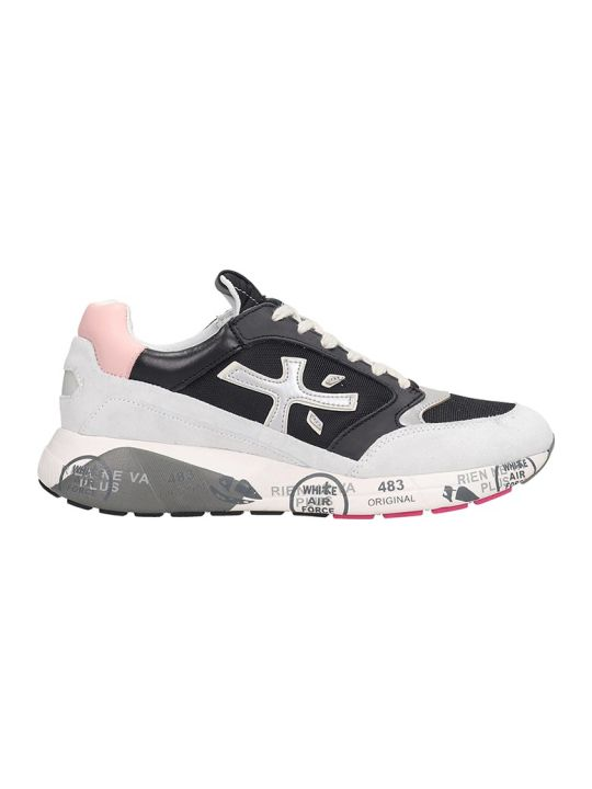 Premiata Zac Zac Sneakers In Black Tech/synthetic