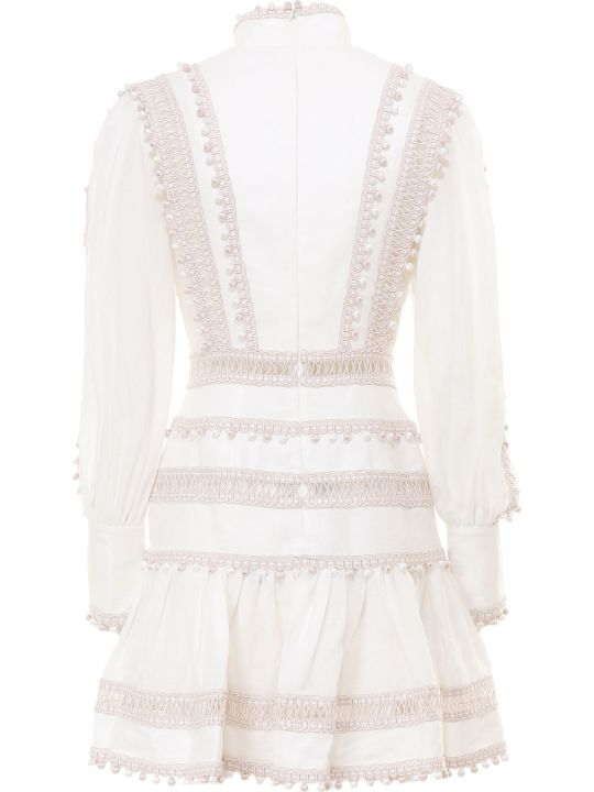 Zimmermann Super Eight Corded Mini Mini Dress