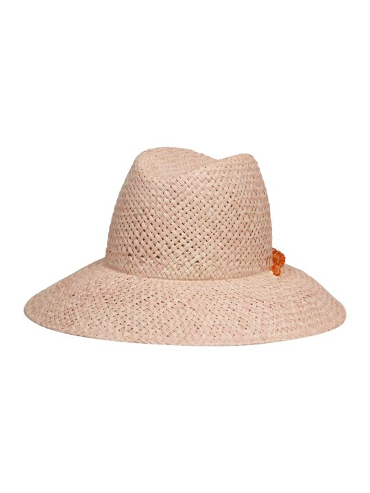 Maison Michel Kate Chain Fedora Hat