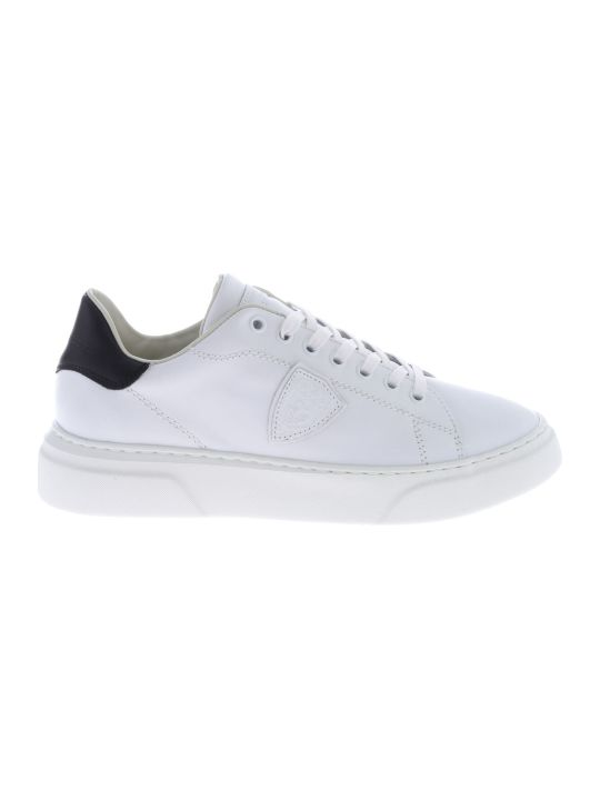 Philippe Model Logo Patch Sneakers