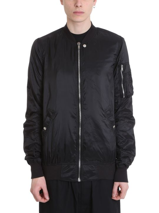 DRKSHDW Bomber Black Nylon Jacket