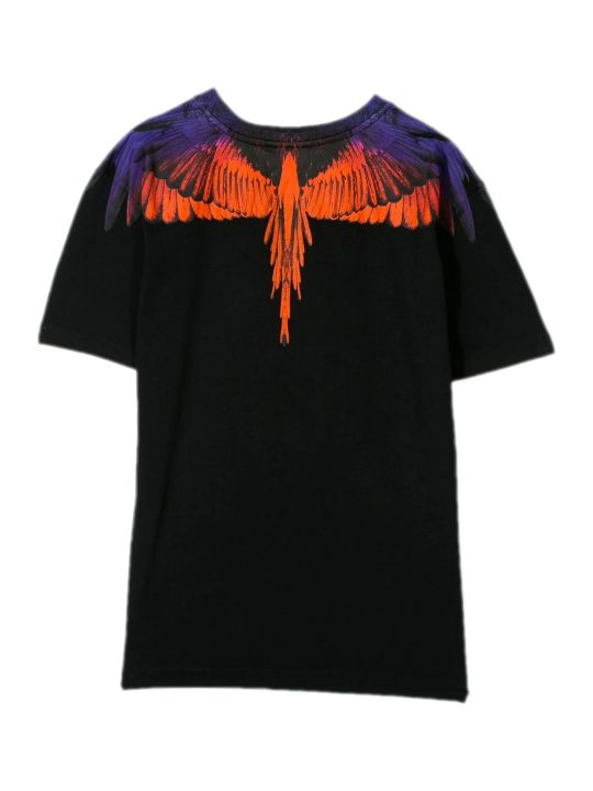 Marcelo Burlon Black Cotton T-shirt