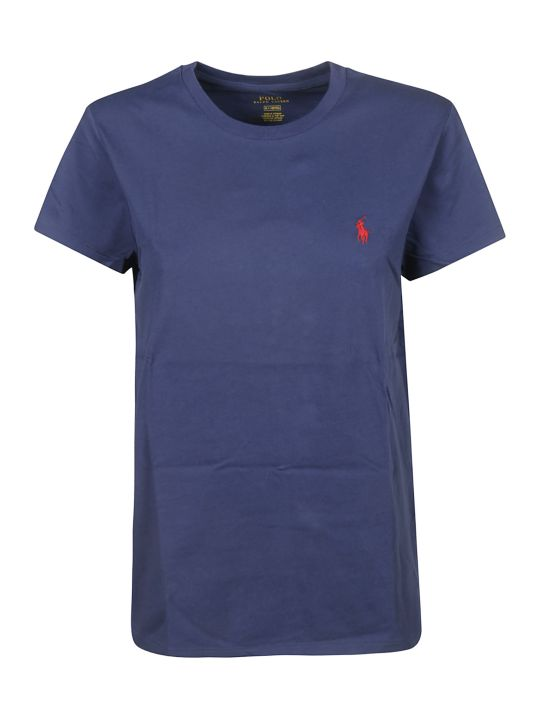 Ralph Lauren Embroidered Logo T-shirt