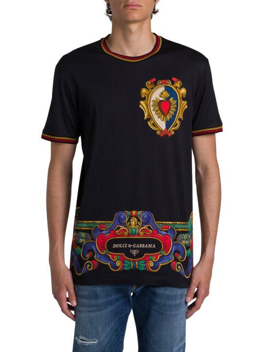 Dolce & Gabbana T-shirt With Emblem Print