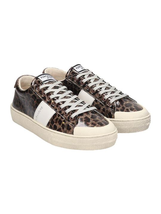 M.O.A. master of arts Sneakers In Animalier Leather
