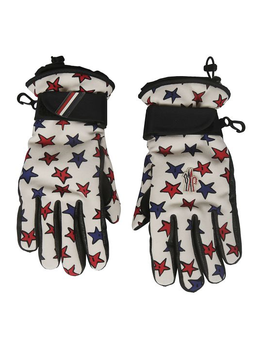 Moncler Genius Star Printed Gloves
