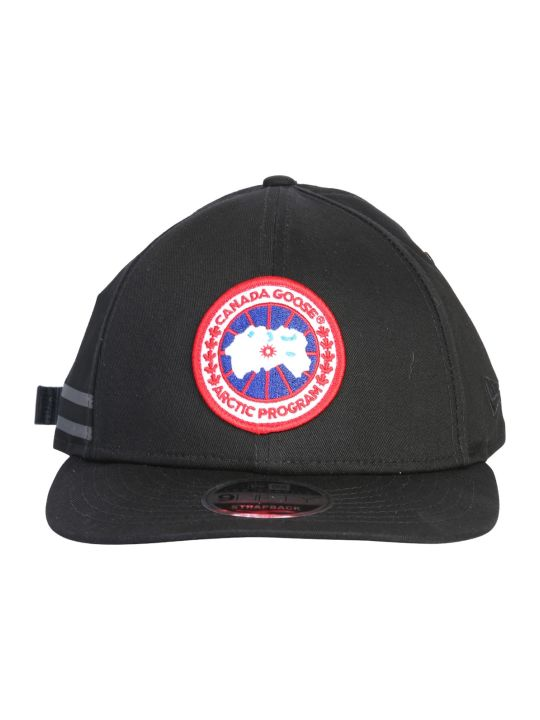 Canada Goose Baseball Hat With Patch Logo