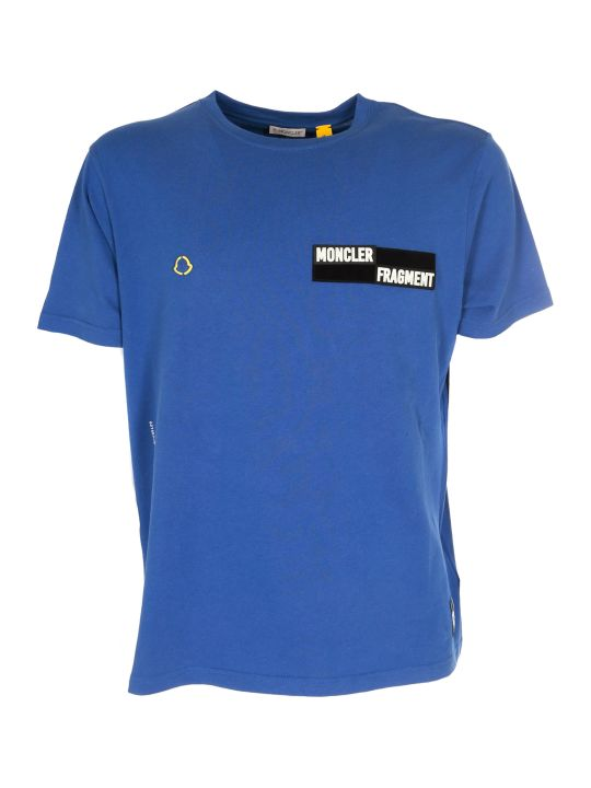 Moncler Genius Fragment Collection By Hiroshi Fujiwara Logo T-shirt