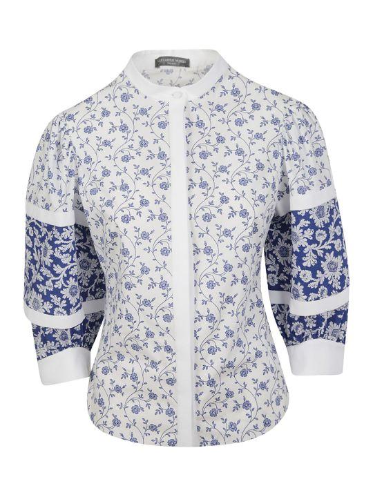Alexander McQueen Floral Print Shirt