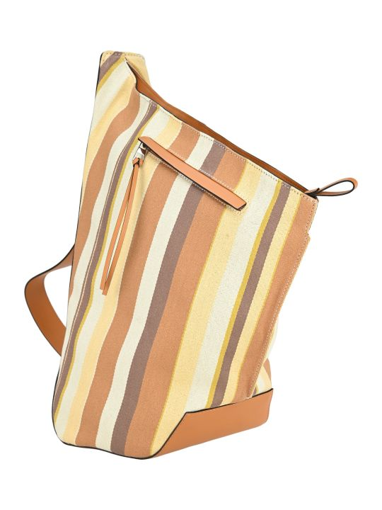 Loewe Anton Stripes Small Backpack