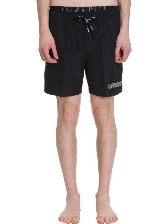 Calvin Klein Jeans Black Polyamide Beachwear