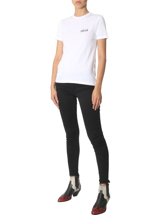 Etre Cecile T-shirt With Love Bird Print
