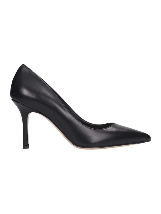 The Seller Pumps In Black Leather