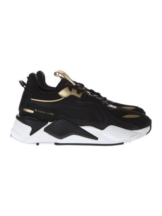 Puma Select Puma Rs X Trophy Black Mesh Sneakers