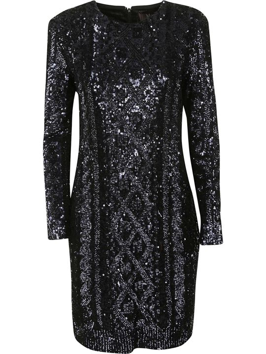 Max Mara Pianoforte Bead Embellished Dress