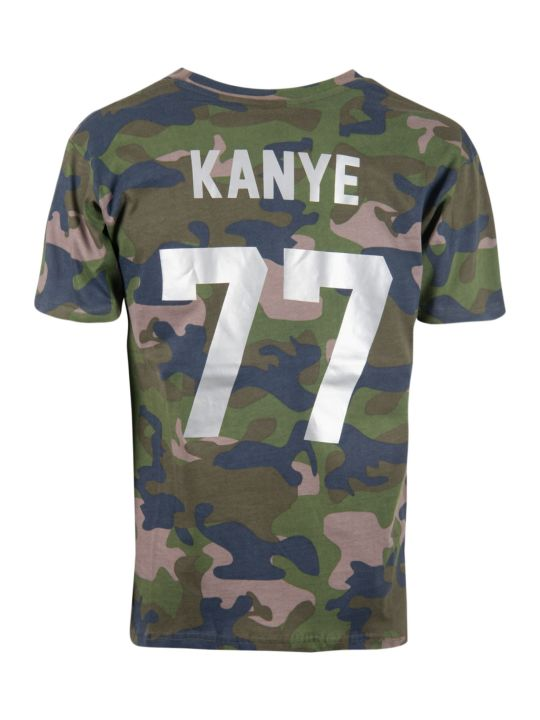 Les Artists Camouflage T-shirt