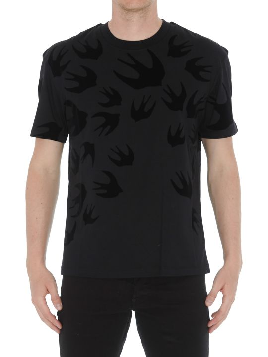 McQ Alexander McQueen Swallows Tshirt