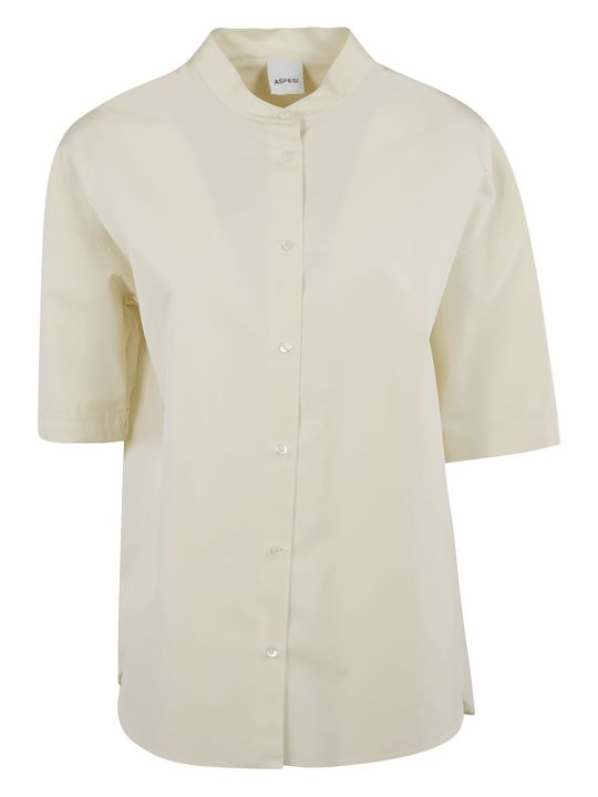 Aspesi Round Collar Shirt