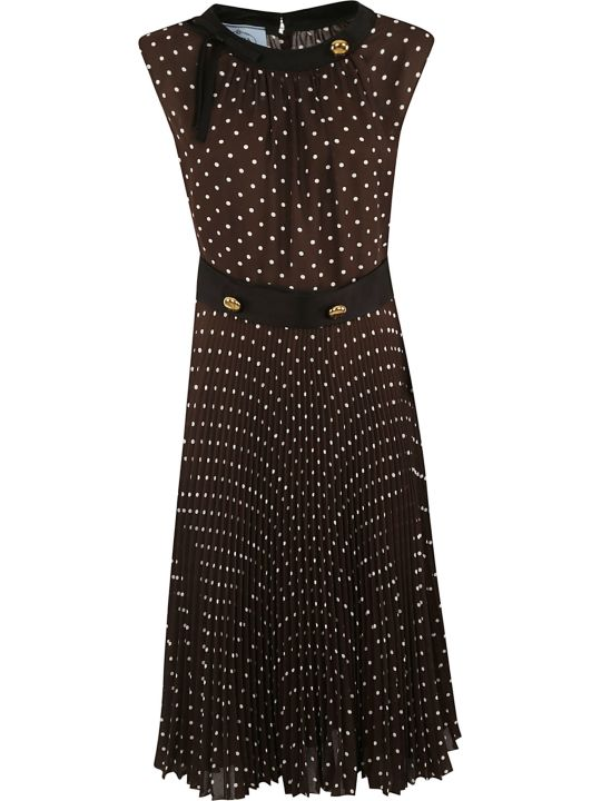 Prada Polka Dot Dress