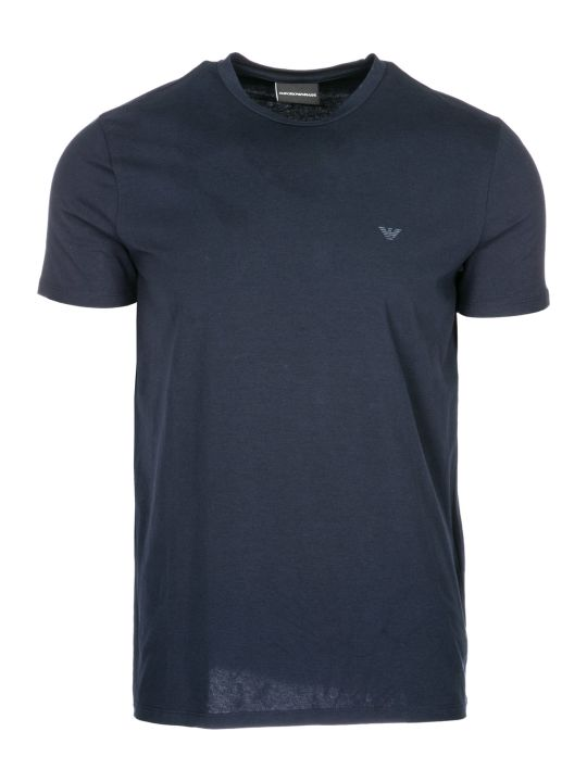 Emporio Armani  Short Sleeve T-shirt Crew Neckline Jumper Slim Fit