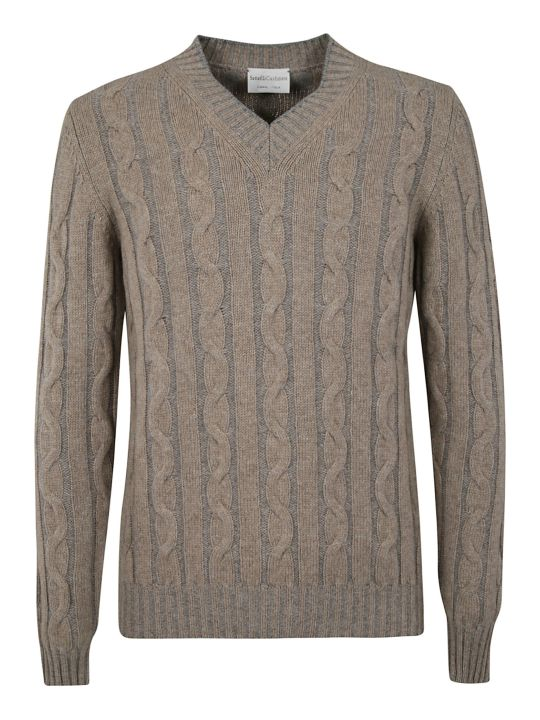 Settefili Cashmere V-neck Sweater