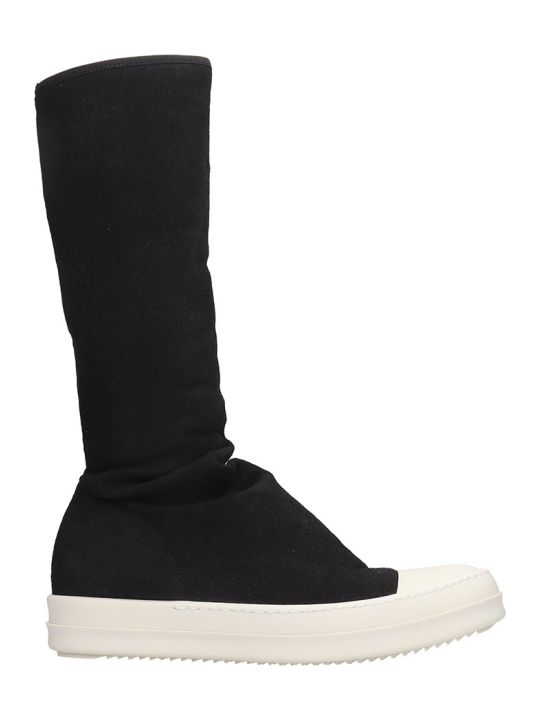 DRKSHDW Sock Sneaks Sneakers In Black Tech/synthetic