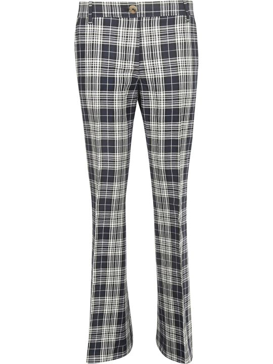 Tommy Hilfiger Checked Flared Trousers
