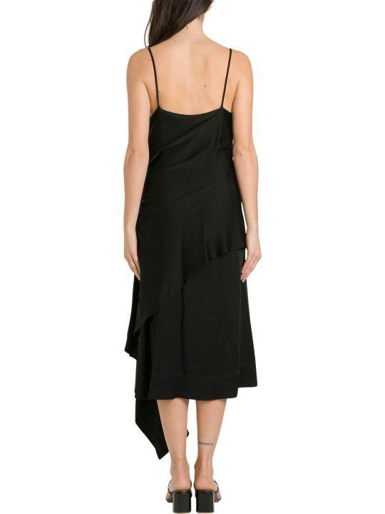 Colville Asymmetric Thin Stripe Dress