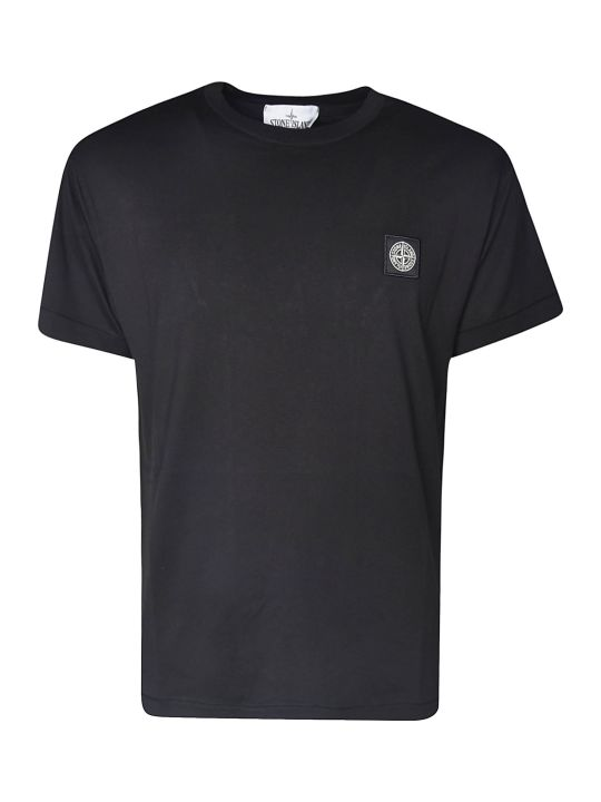 Stone Island Logo Patched T-shirt