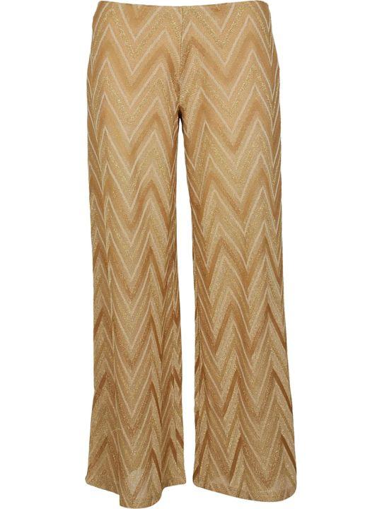 M Missoni Chevron Pattern Trousers