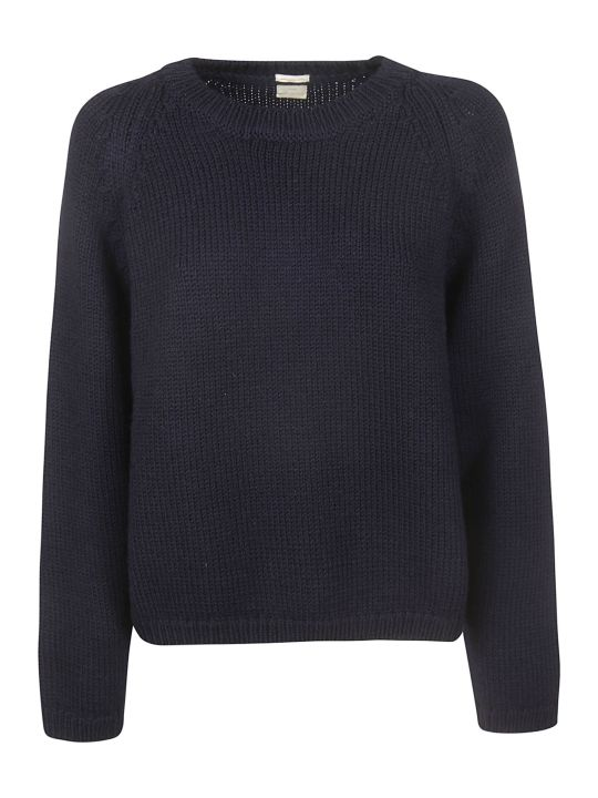 Massimo Alba Ribbed Round Neck Jumper