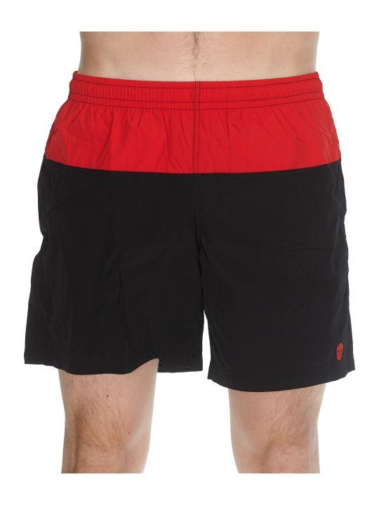 Alexander McQueen Bicolor Swim Shorts