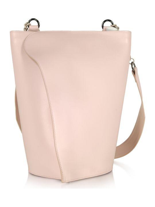 Giaquinto Pink Layla Leather Shoulder Bag