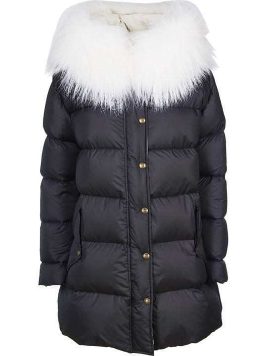 Mr & Mrs Italy Fur Trim Down Jacket