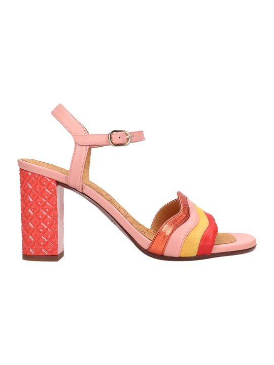 Chie Mihara Pink Leather Sandals Baola