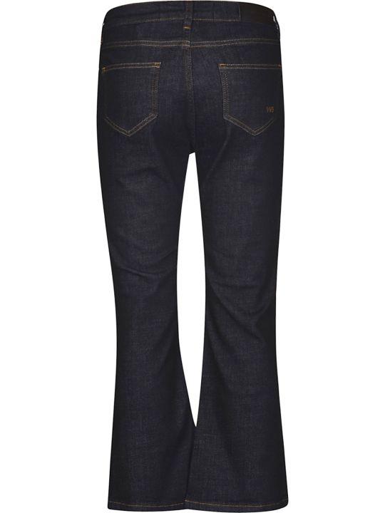 Victoria Beckham Flared Cuffs Jeans