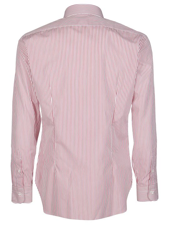 Barba Napoli Striped Shirt