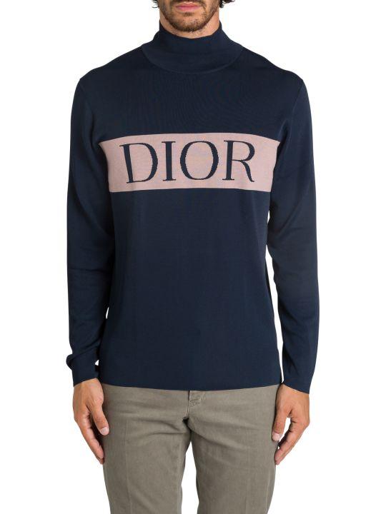 Dior Homme Logo Turtleneck