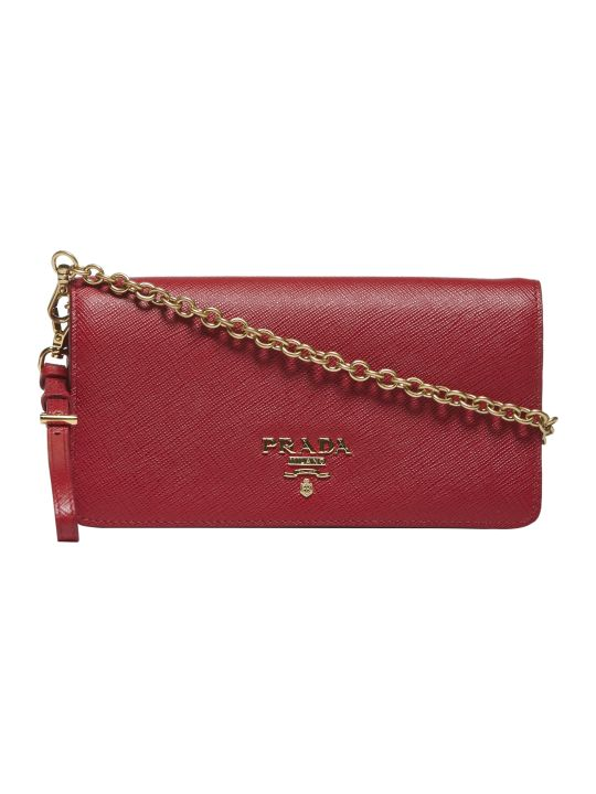 Prada Mini Saffiano Shoulder Bag