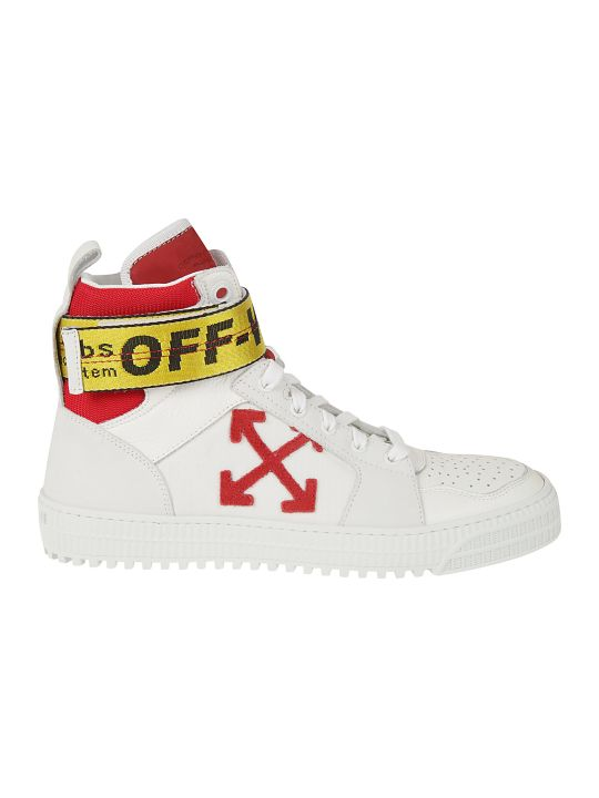 Off-White Industrial Belt Hi-top Sneakers