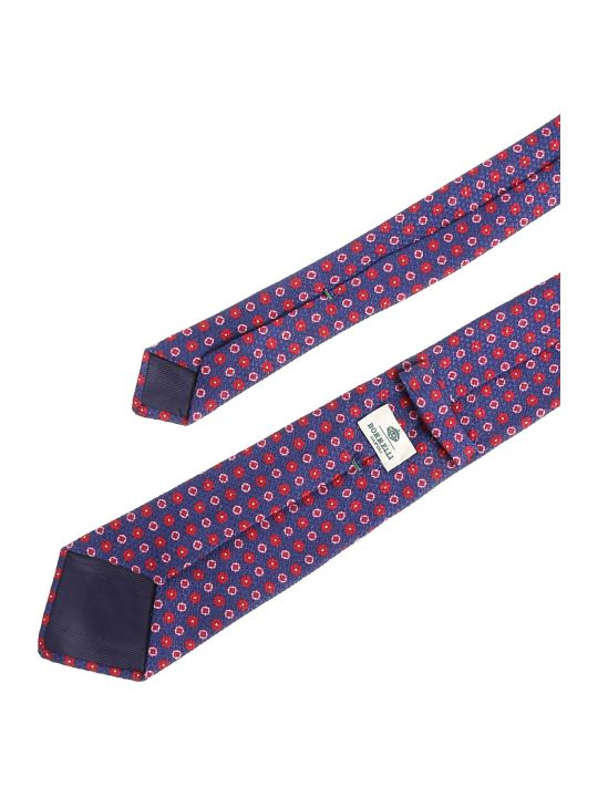 Luigi Borrelli Floral Pattern Tie