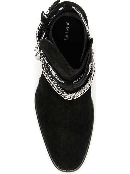 AMIRI Bandana Buckle Boots