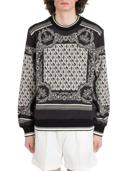 Dolce & Gabbana Bandana Printed Sweatshirt