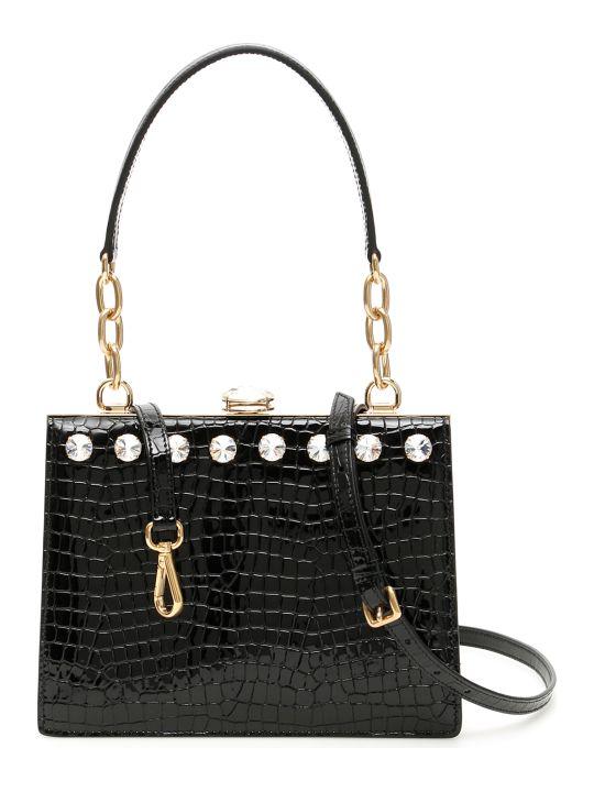 Miu Miu Miu Solitaire Croc-print Bag