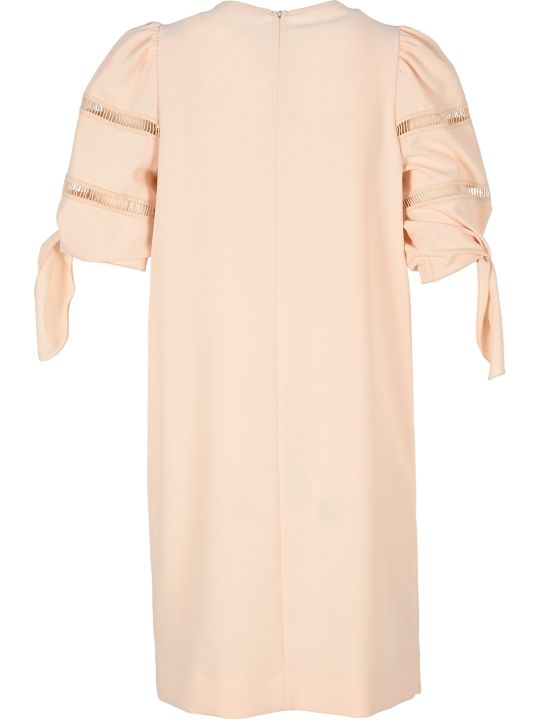 See by Chloé See By Chloe' Sleeve-knot Mini Dress