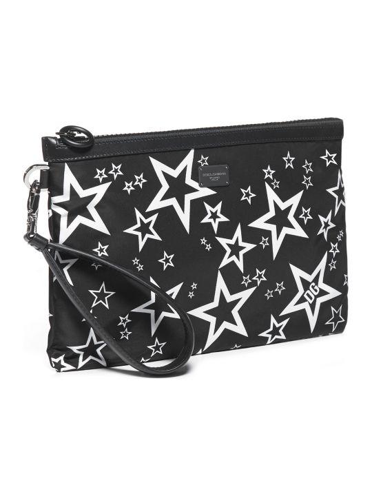 Dolce & Gabbana Nylon Stampato Bag
