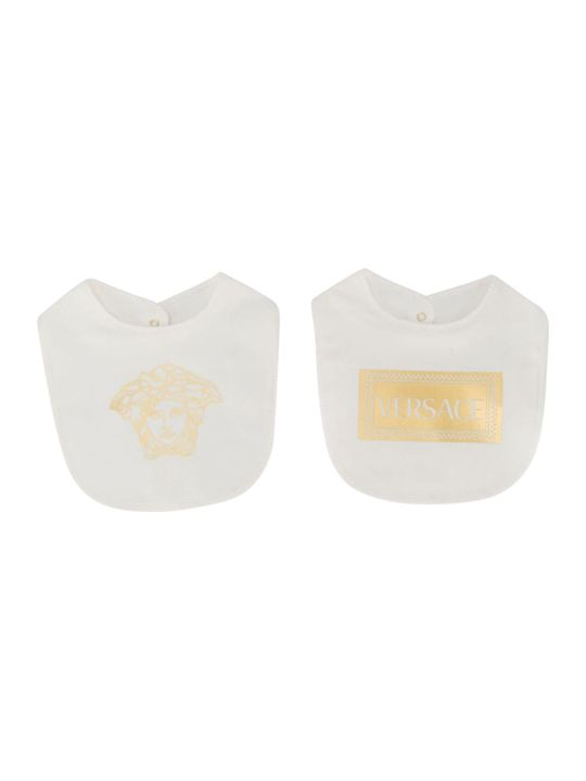 Young Versace Fendi Kids Printed Bib
