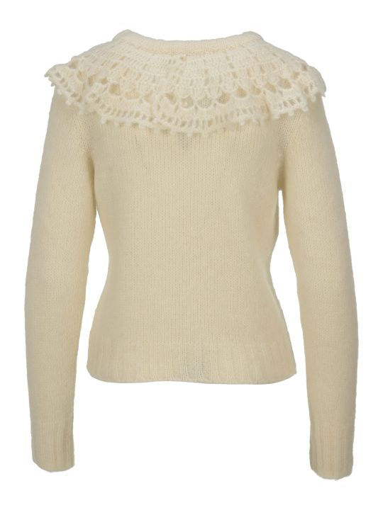 Philosophy di Lorenzo Serafini Philosophy Ruches Collar Sweater