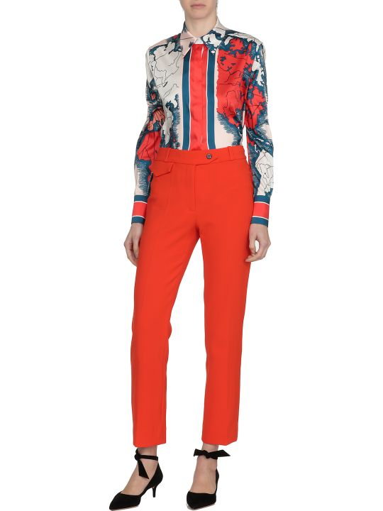 Victoria Victoria Beckham Plain Color Trousers